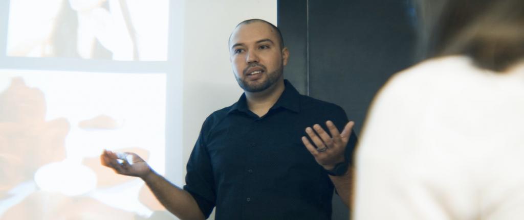 José Adrián Badillo Carlos, a DACA recipient, teaches Spanish at Michigan State University.